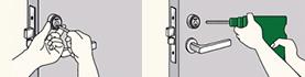 ゴール・GOALのグランブイシリンダーは鍵穴破壊やもぎ取りにもしっかり対応したシリンダー(鍵穴)となります。俺の合鍵。